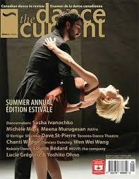 Image of Luke Garwood from dissolver on cover of Dance Current