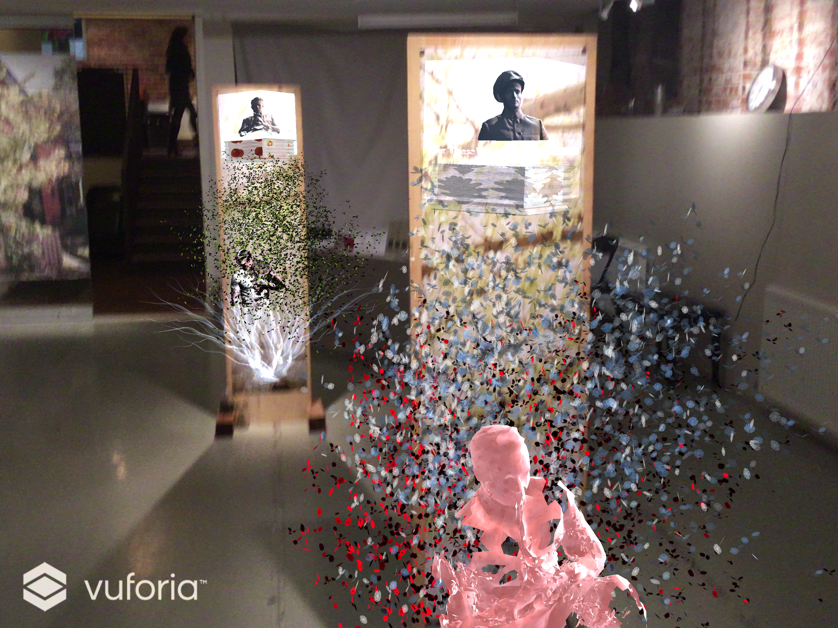 AR content from 2 images